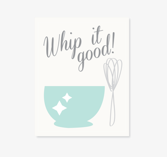 Whip it Good Digital Download Print. DIY Printable Wall Art. Kitchen Decor. Typography Wall Art. Printable Wall Quote Home Decor