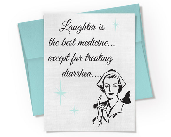 Card - Laughter is the Best Medicine