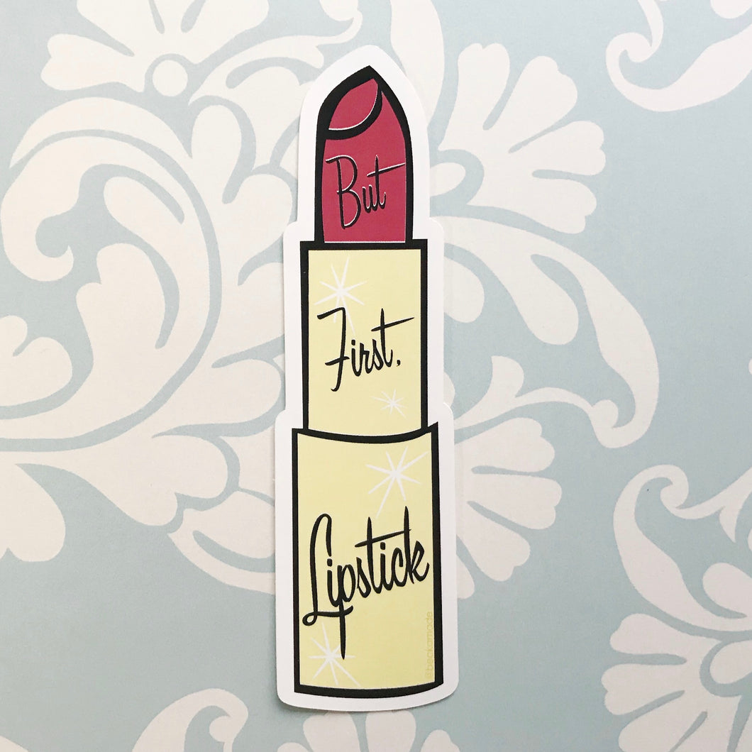 But First, Lipstick Sticker