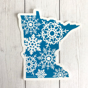 Sticker - Snowflake Your State