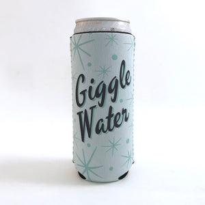 Cozie - Giggle Water. Skinny Can Cozie