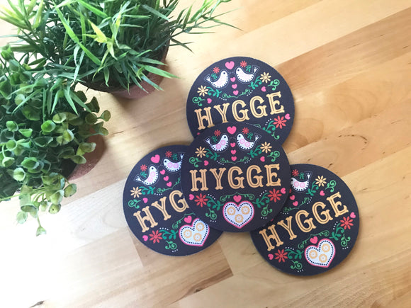 Coaster - Hygge - Set of 4