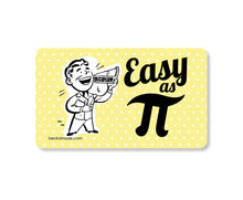 Magnet - Easy as Pi Retro Kitchen Magnet.