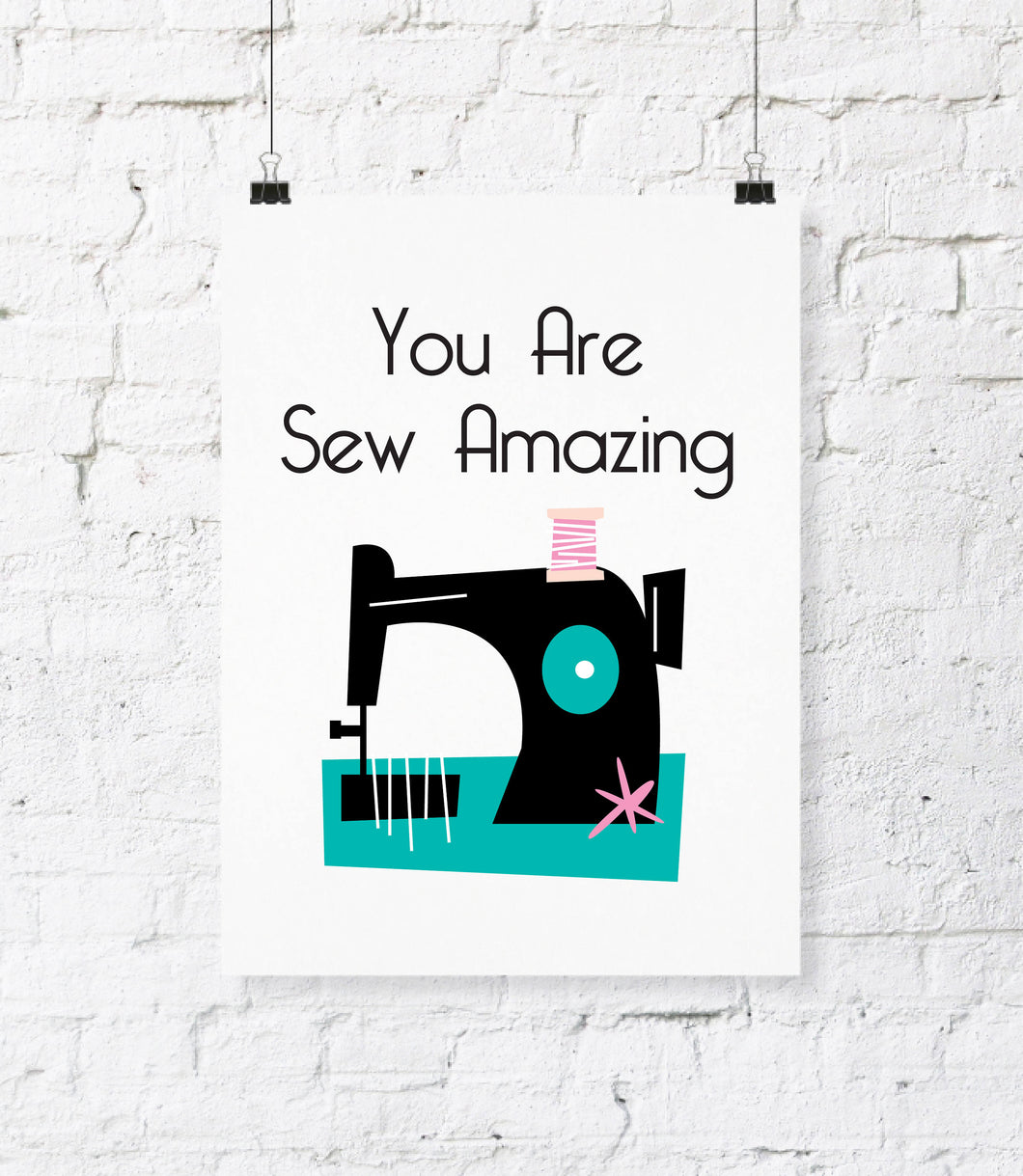 image about Printable Room Decor known as Sew Outstanding Electronic Down load Print. Do it yourself Printable Wall Artwork. Workplace Decor. Sewing House Decor. Craft House Artwork. Printable Wall Dwelling Decor