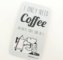 Coffee Retro Kitchen Magnet. Coffee Lover Gift. Caffine Lover Gift.