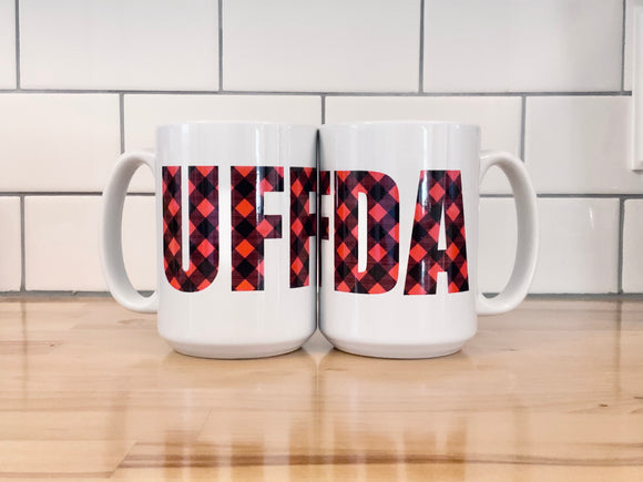 Mug - Buffalo Plaid Uffda