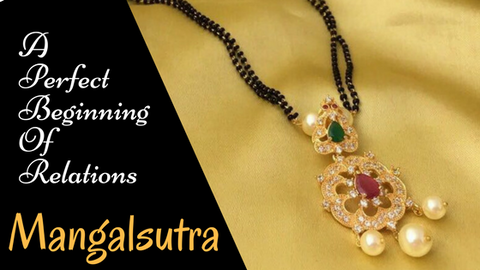 Importance of Mangalsutra/buy mangalsutra design online