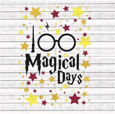 Sublimation Print - 100 Magical Days