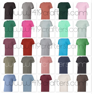 3413 - Bella Triblend Short Sleeve Tee - 2X and 3X