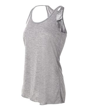 8800 - Bella Women's Flowy Racerback Tank Extra Small - Medium