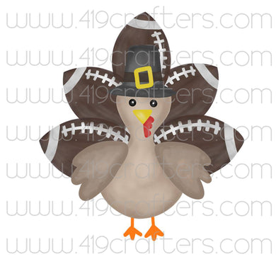 Sublimation Print - Football Turkey