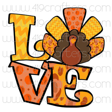 Sublimation Print - Love Turkey