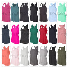 Bella + Canvas - Women's Flowy Racerback Tank - 8800