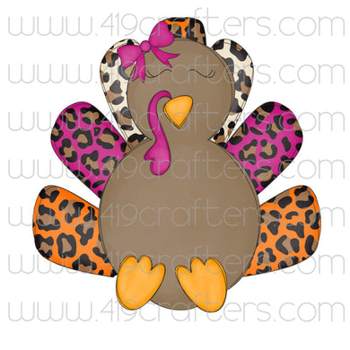 Sublimation Print - Turkey Girl