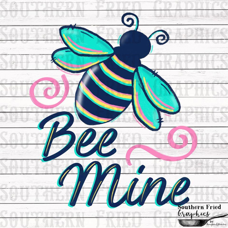 White Toner Laser Print  - Bee Mine