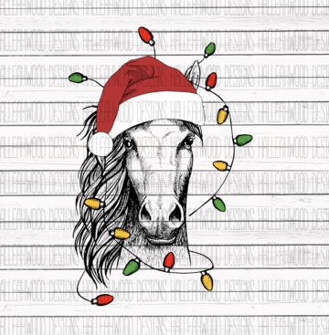 Sublimation Print - Christmas Horse