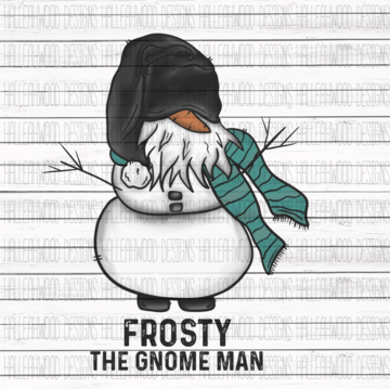 Sublimation Print - Frosty the Gnomeman