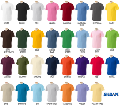 G5000 - Gildan Heavy Cotton Short Sleeve T S-XL