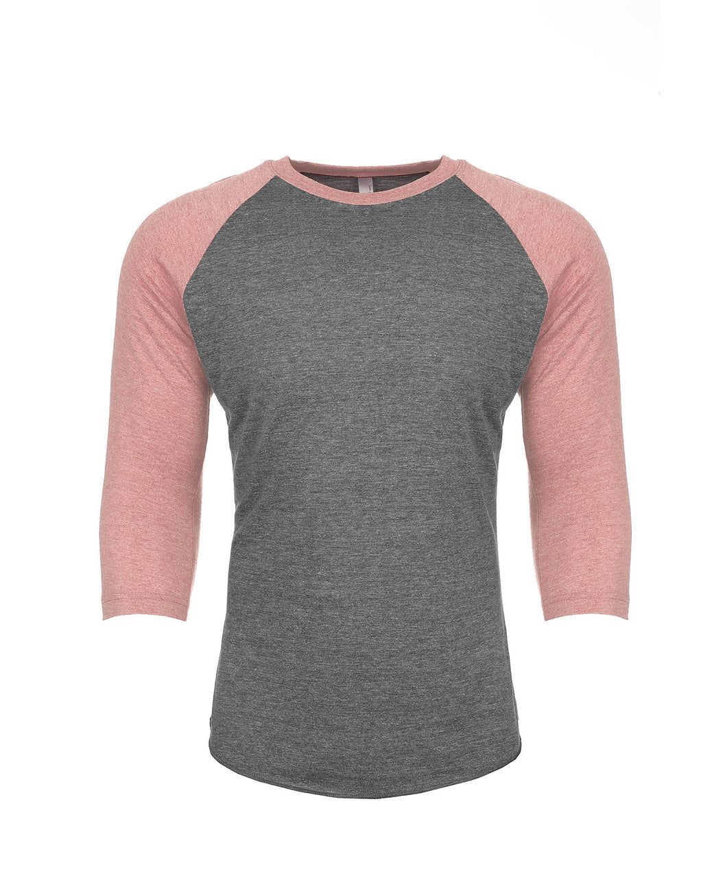 6051 - Next Level - Unisex Tri-Blend Three-Quarter Sleeve Baseball Raglan Tee - XS to L