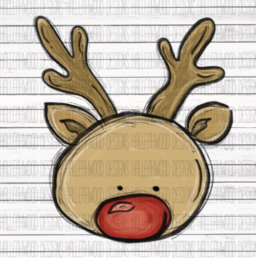 Sublimation Print - Rudolph 2