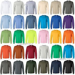 Gildan Heavy Cotton Long Sleeve T 2X and 3X