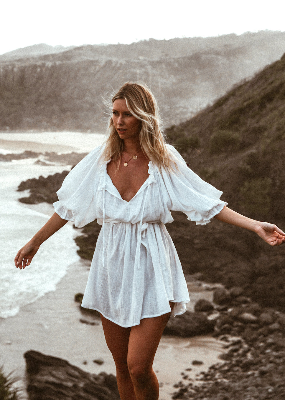 THE EMMALINE TUNIC | WHITE