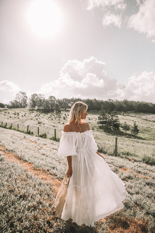 THE EMMALINE GOWN | DUSTY ROSE