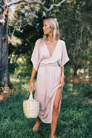 THE EMMALINE GOWN | SAGE GREEN