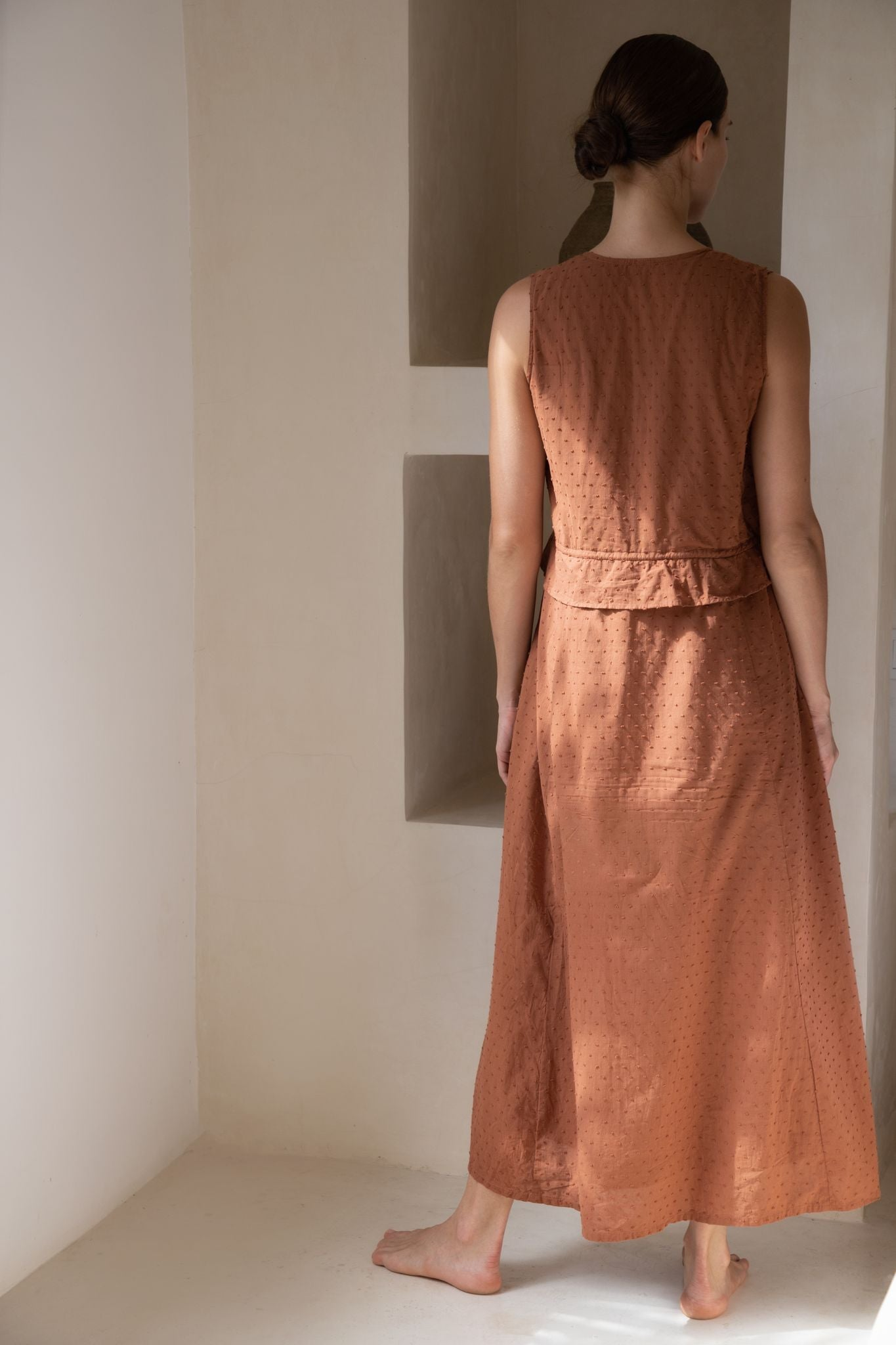 THE BYRON MAXI DRESS | CINNAMON