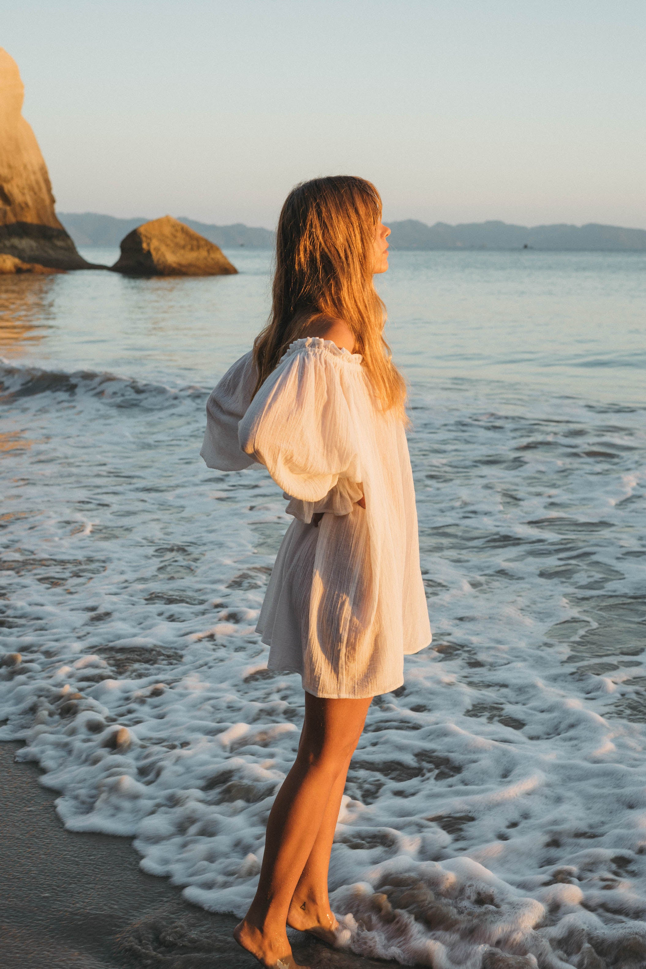 THE EMMALINE TUNIC | WHITE |