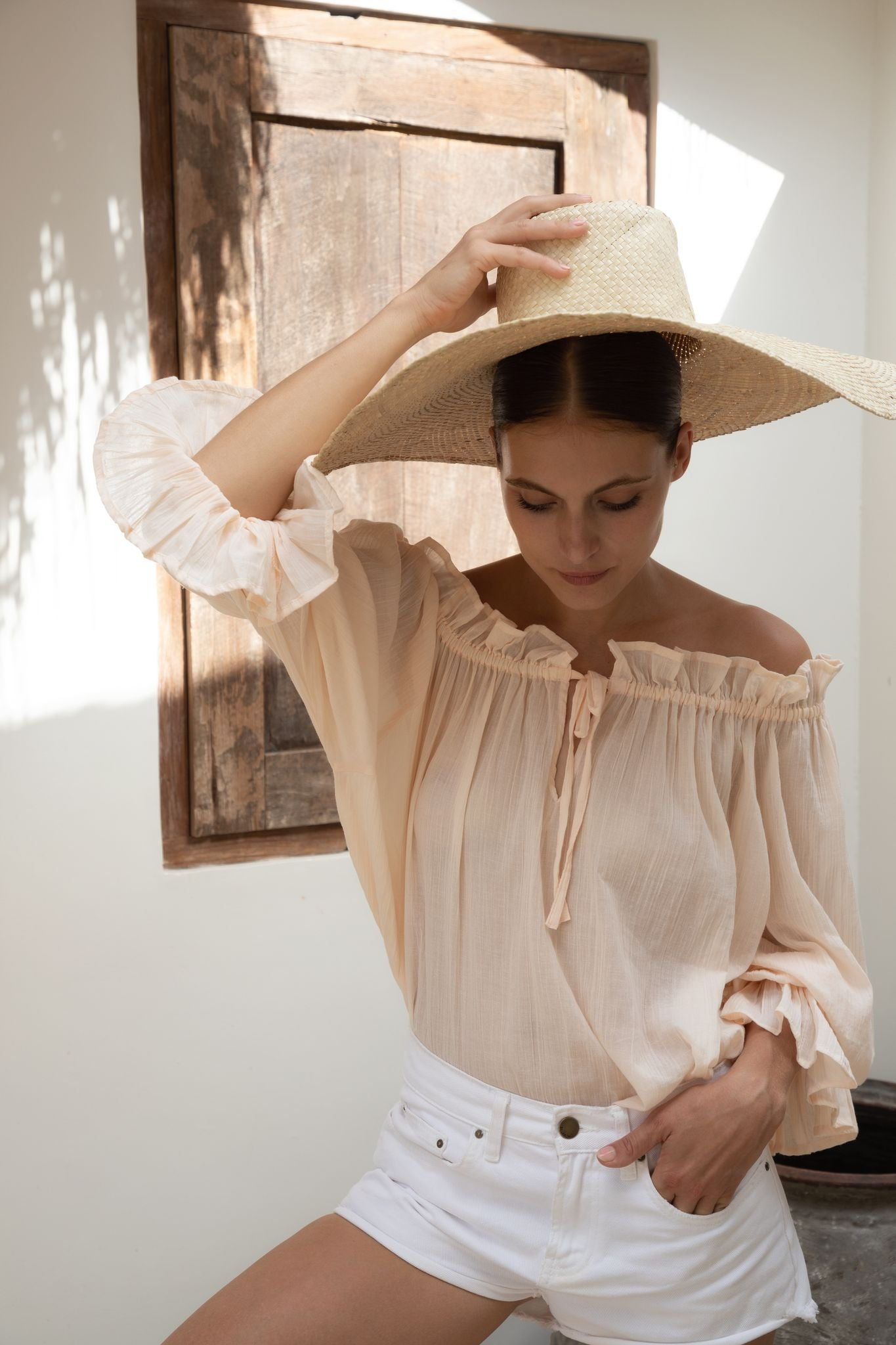 THE EMMALINE BLOUSE | ROSEWATER