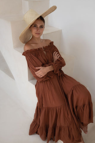 THE MELODY MAXI DRESS | OLIVE