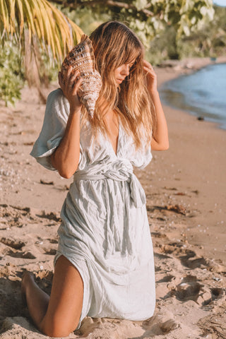 THE MELODY MAXI DRESS | SAGE GREEN