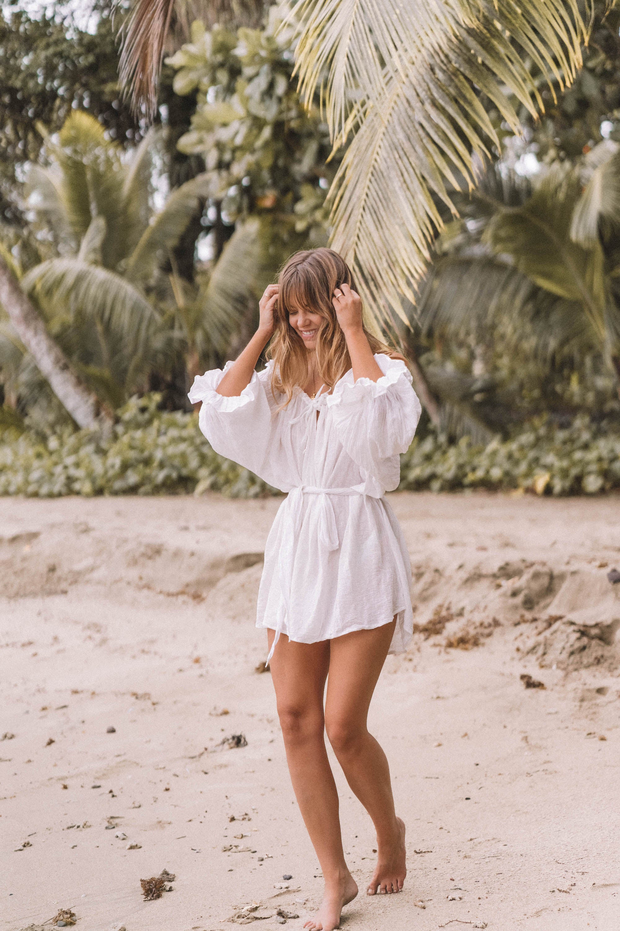 THE EMMALINE TUNIC | WHITE | PRE-ORDER