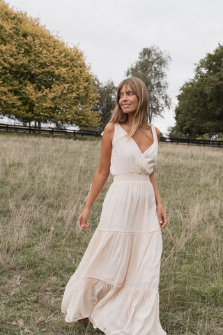 THE BYRON MAXI DRESS | WHITE