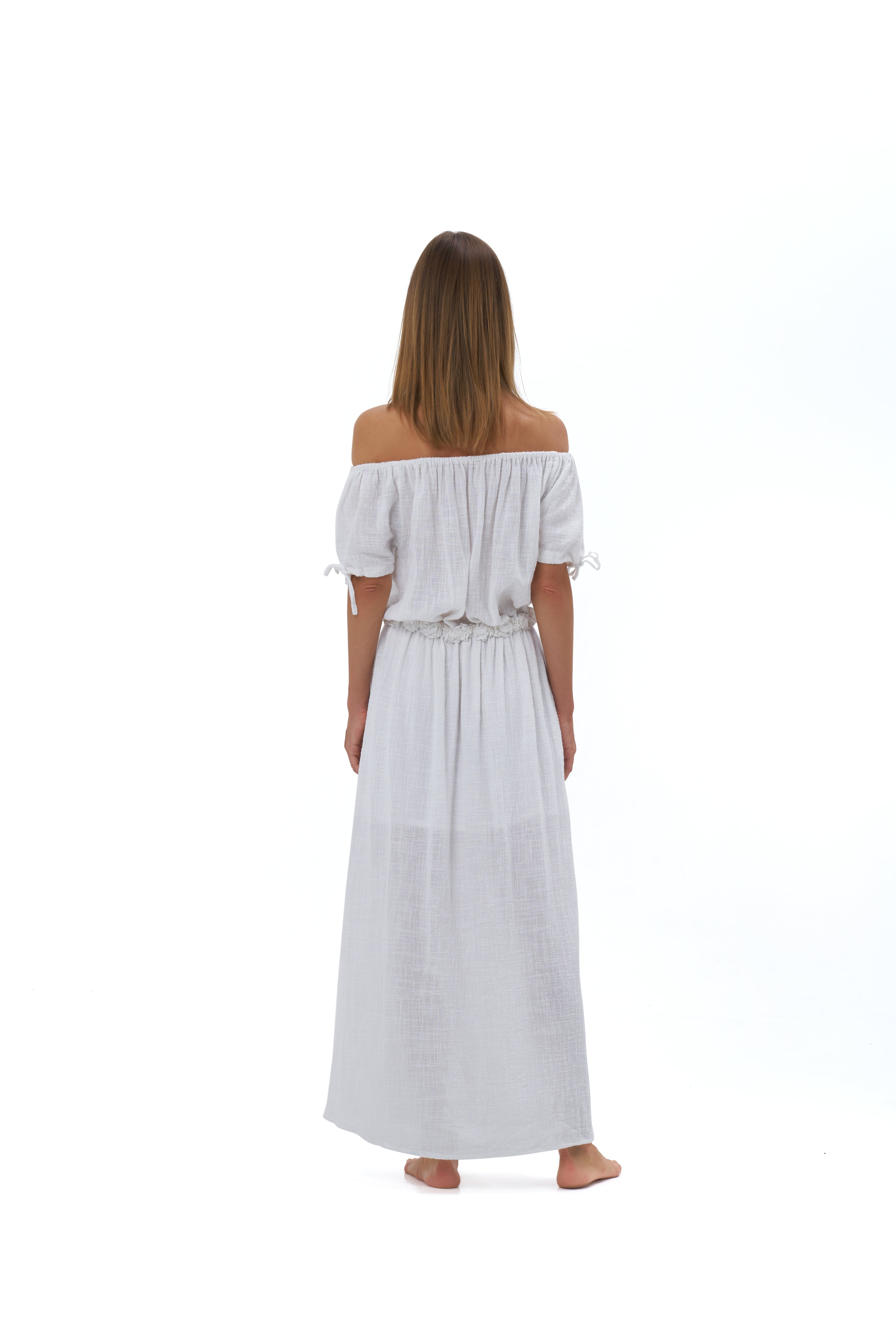 THE JULIETTE MAXI DRESS | WHITE