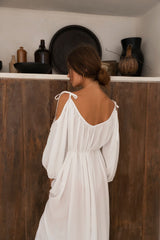 THE WILLOW GOWN | WHITE
