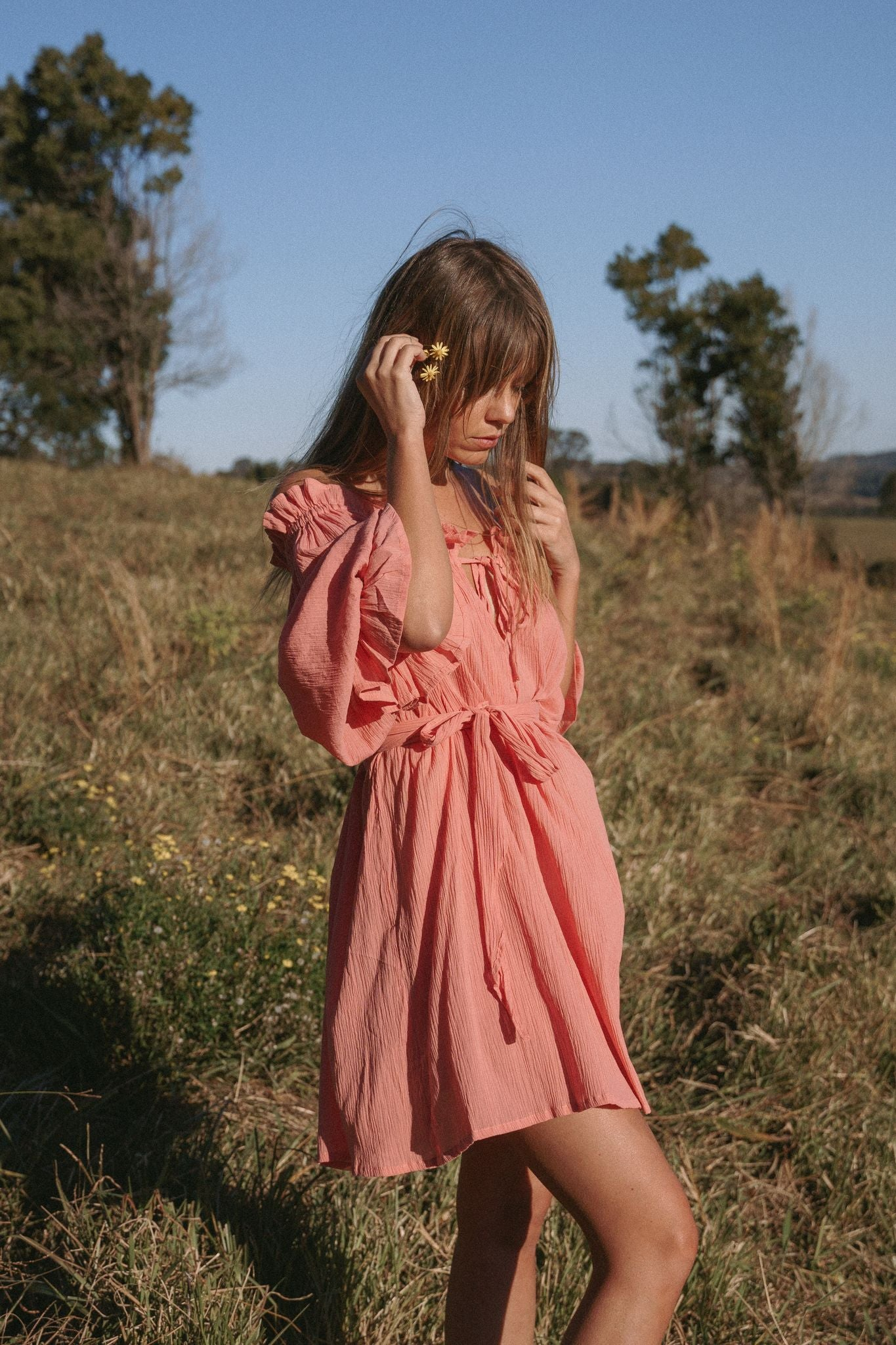 THE EMMALINE TUNIC | DUSTY ROSE