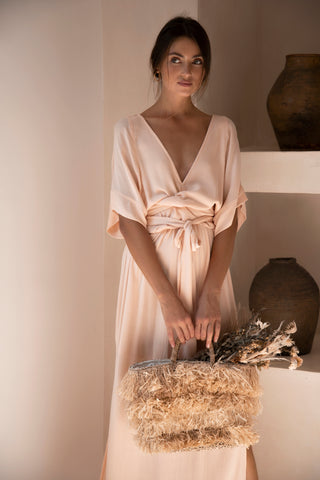 THE EMMALINE GOWN | TOASTED PEACH