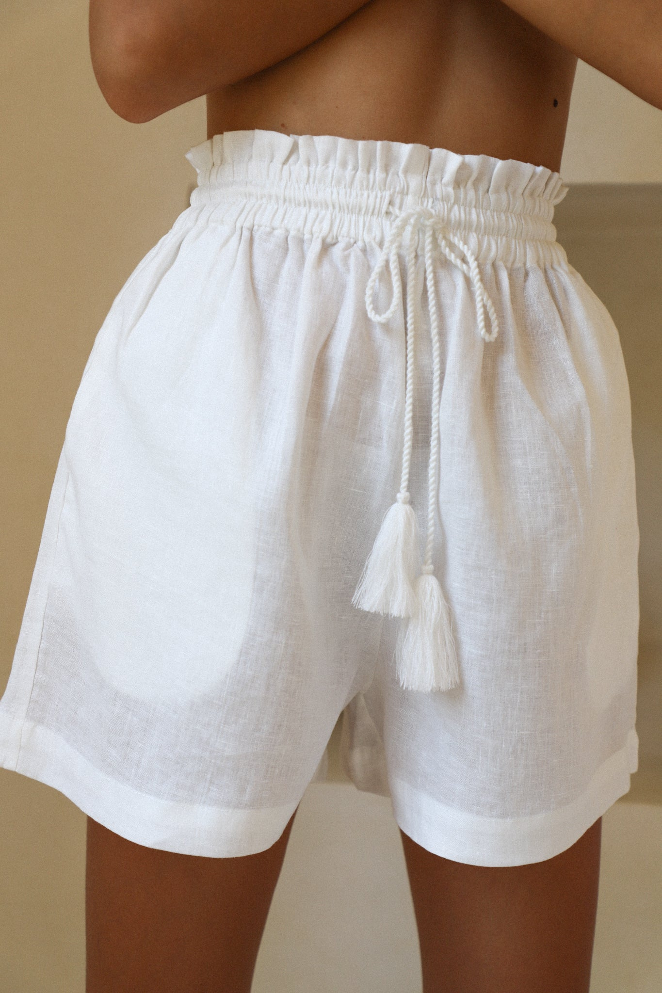 THE LUELLA SHORT | WHITE