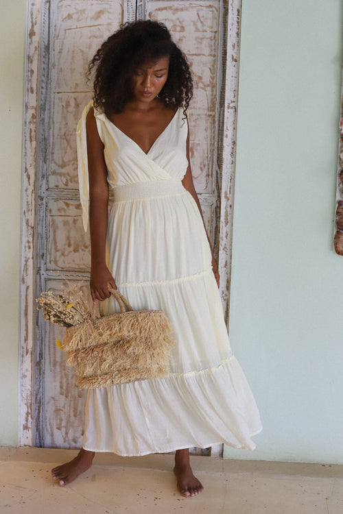 THE ISABELLA GOWN | FRENCH VANILLA