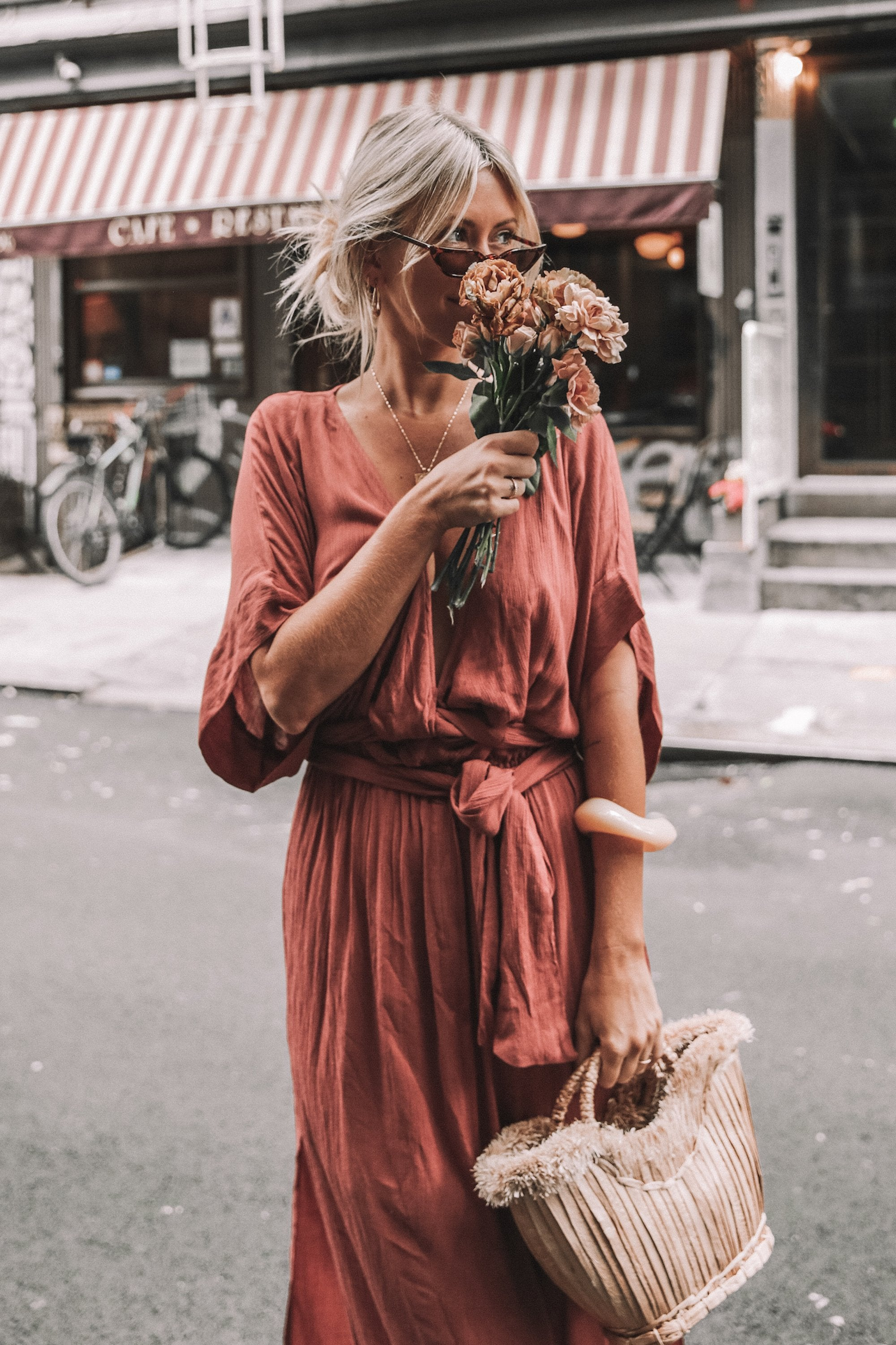 THE MELODY MAXI DRESS | DEEP ROSE