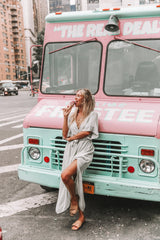 THE MELODY MAXI DRESS | MINT GREEN