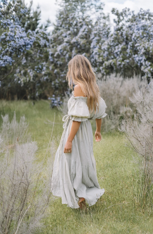 THE EMMALINE GOWN | DEEP ROSE