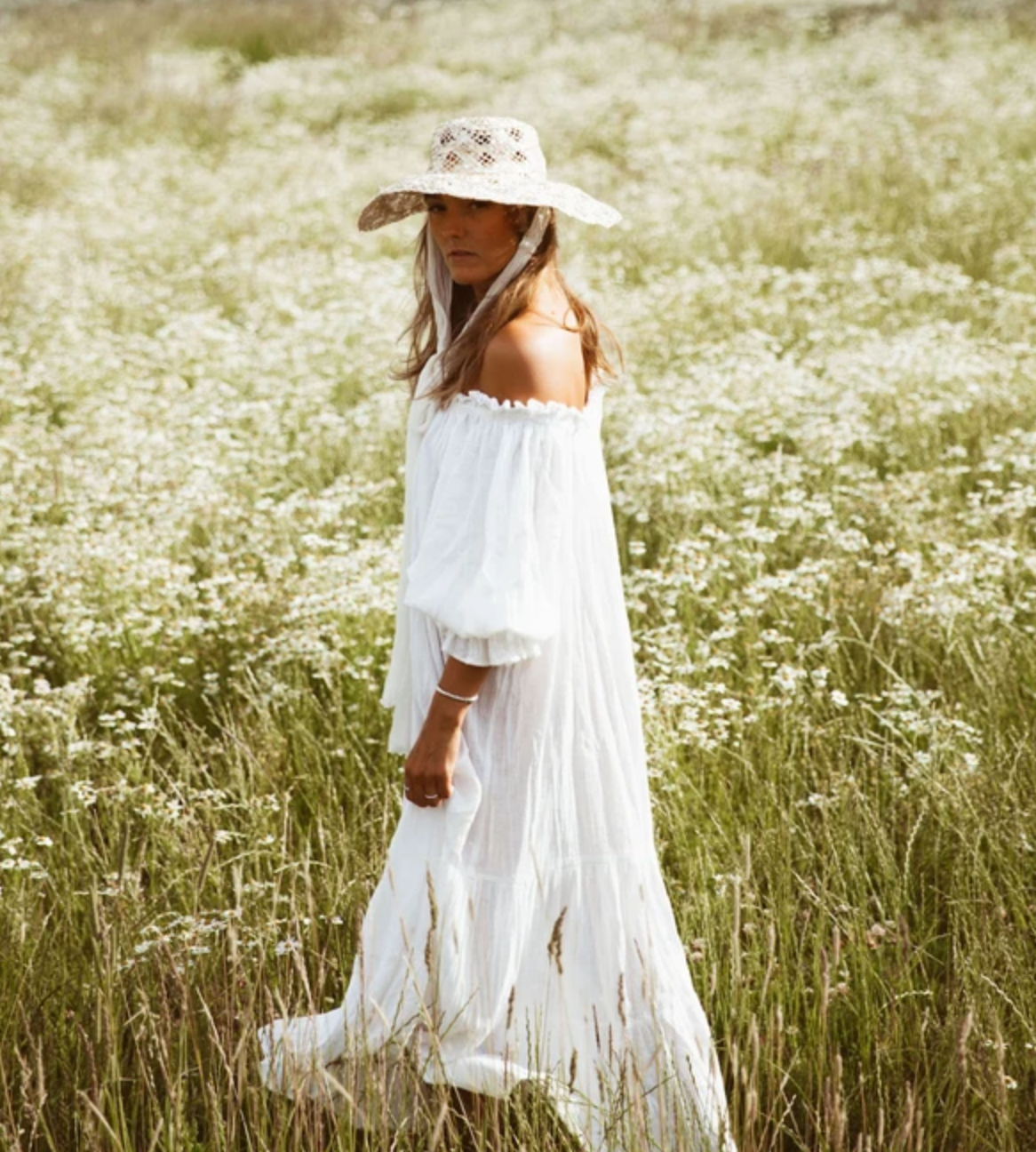 THE EMMALINE GOWN | WHITE