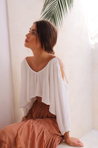 THE STELLA TOP | WHITE
