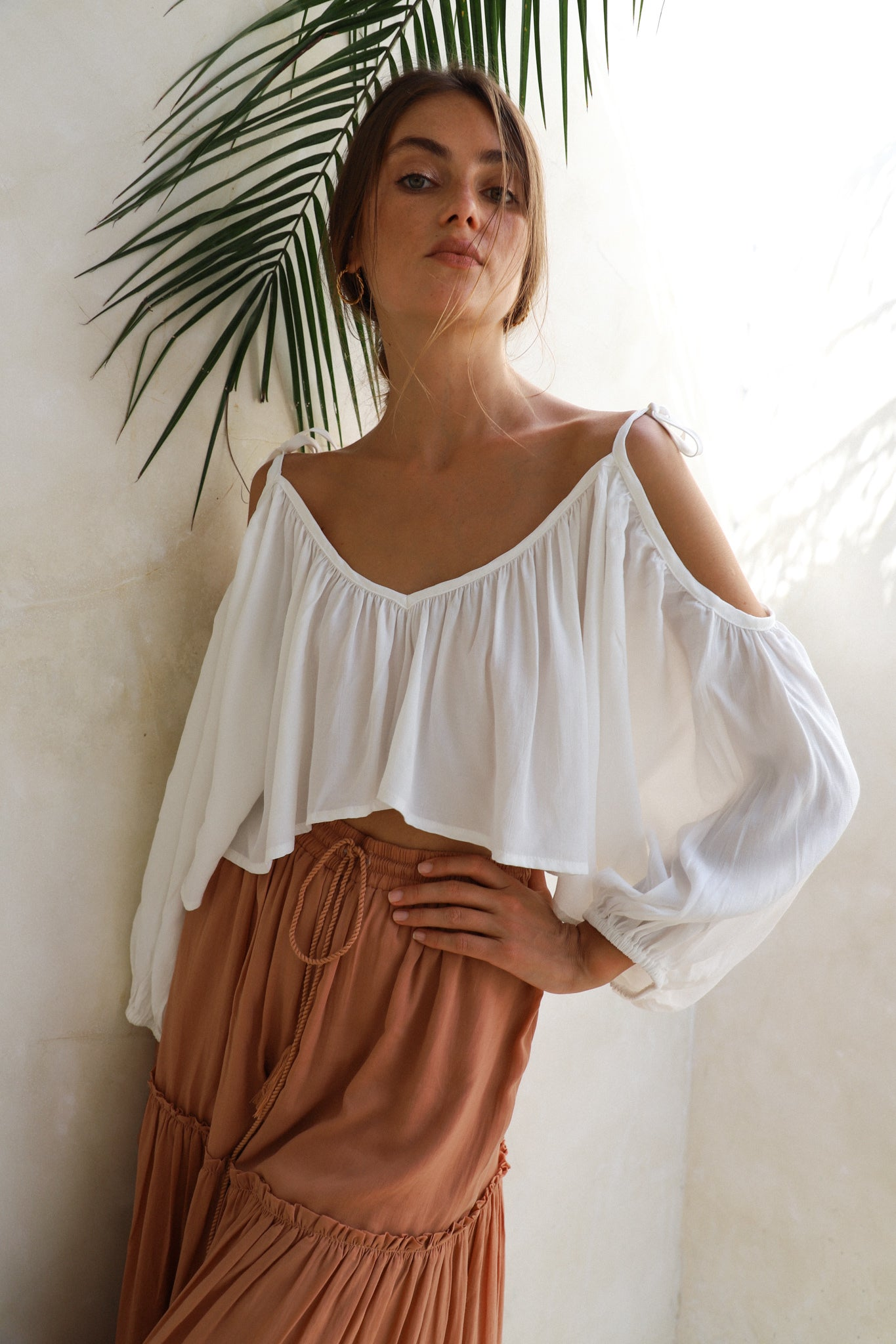 THE WILLOW TOP | CLASSIC WHITE