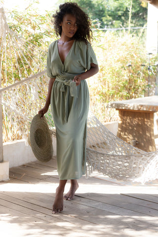 THE MELODY MAXI DRESS | MAUVE