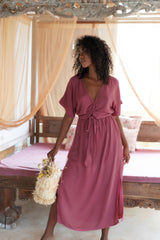 THE MELODY MAXI DRESS | ROSA