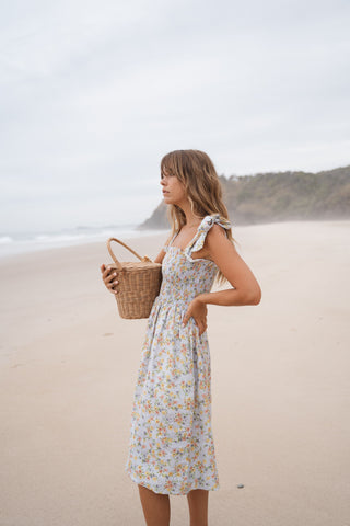 THE MELODY MAXI DRESS | CINNAMON